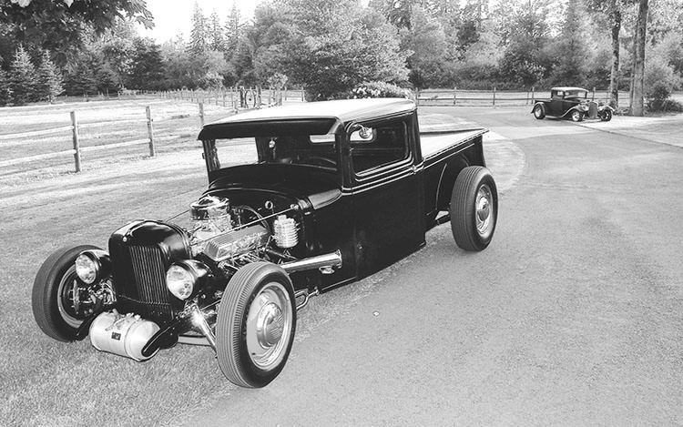 Fueling a Model A Pickup