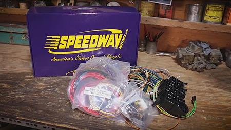 Speedway Tech Talk - Unboxing Wiring Harness Kits