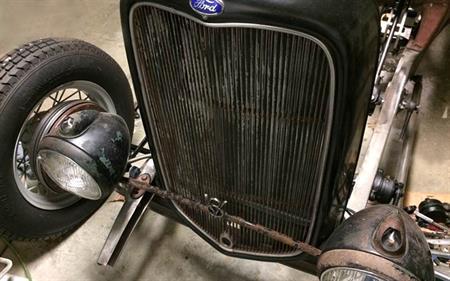 Speedway Double Pass Aluminum Radiator, Ford-Mopar