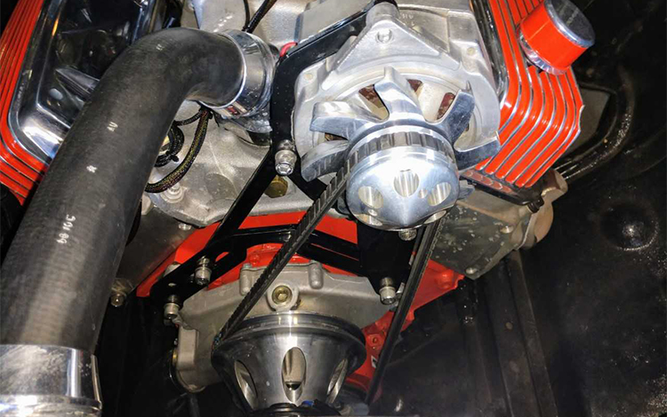 Alternator Bracket Install on a 454 Big Block Chevy
