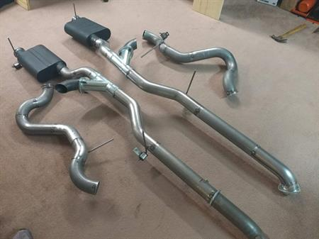 """BBK 1661 1986-1993 FORD MUSTANG 5.0L 2.5/"""" OFF-ROAD X-PIPE FOR SHORTY HEADERS"""