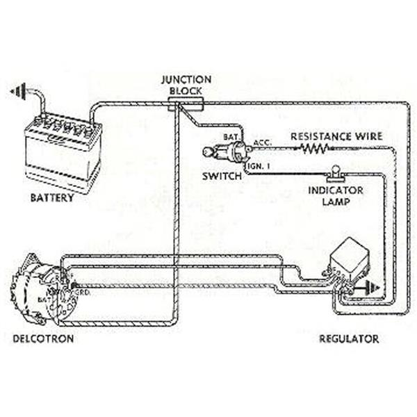 delco remy one wire alternator wiring diagram images delco remy alternator wiring instructions delco engine image