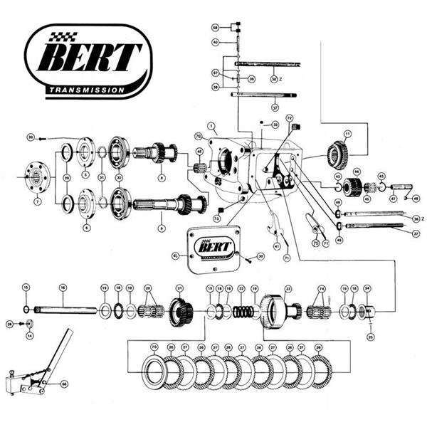 Bert LMZ Exploded View