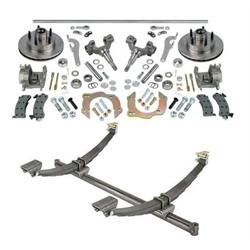 Front Axle, Spindles and Accessories