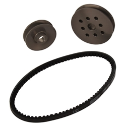 Alternator Pulley and Engine Water Pump Pulley Sets
