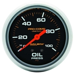 Engine Oil Pressure Gauges