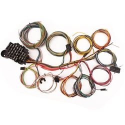 t bucket wiring harness and components shipping speedway chassis wiring harnesses