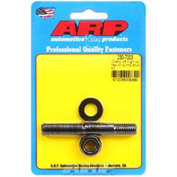 ARP 230-7003 High Volume Oil Pump Stud Kit, Chevy V8, Black, Hex
