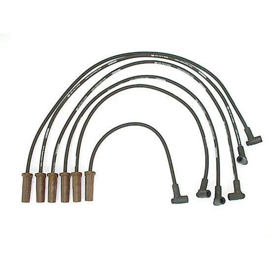 ACCEL 116002 Spark Plug Wire Set, 1988 GM, 6 Piece Set