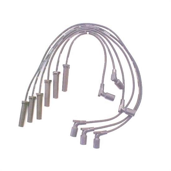 ACCEL 116075 Spark Plug Wire Set, 2000-2007 GM, 6 Piece Set
