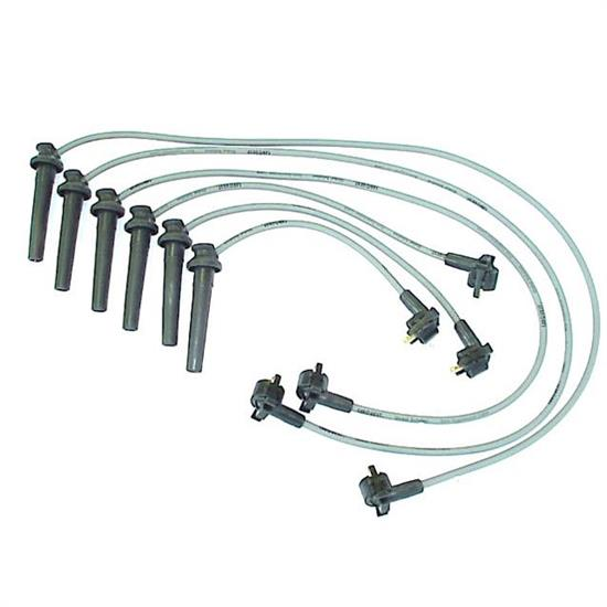 ACCEL 126022 Spark Plug Wire Set, 1995-2007 Ford, 6 Piece Set