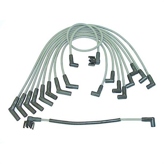ACCEL 128004 Spark Plug Wire Set, 1984-1992 Ford, 10 Piece Set