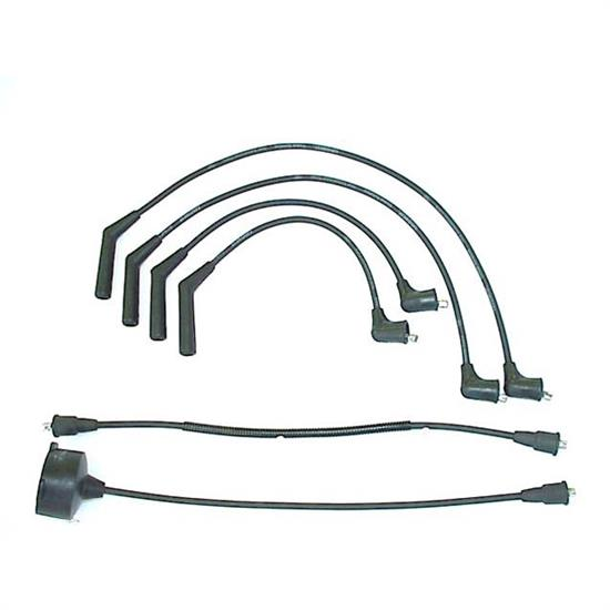 ACCEL 164008 Spark Plug Wire Set, 1983-1989 Honda, 6 Piece Set