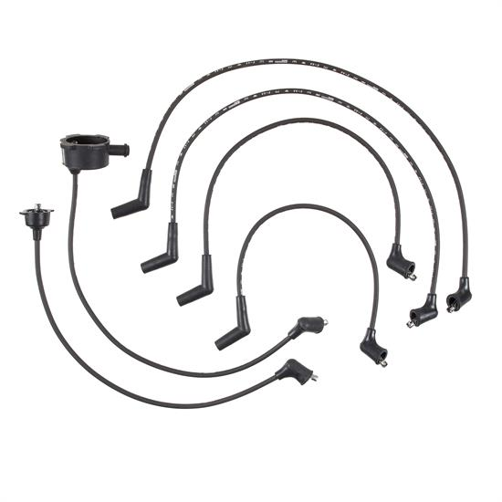 ACCEL 164010 Spark Plug Wire Set, 1984-1987 Honda, 6 Piece Set