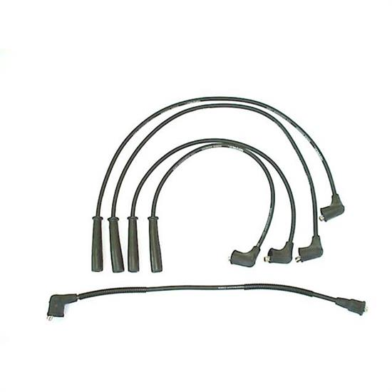 ACCEL 184006 Spark Plug Wire Set, Straight Boot, 5 Piece Set