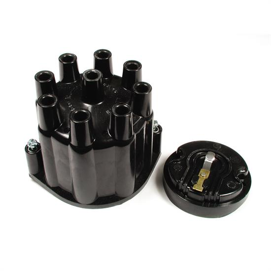 ACCEL 8124ACC Distributor Cap & Rotor Kit , Socket Style, Black