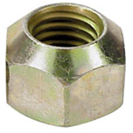 AFCO 10147 1 Inch Hex Steel Lug Nut-1/2 In RH Fine Thread Single Taper