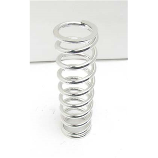 Garage Sale - AFCO 22200CRD Chrome 2-5/8 ID Coil-Over Spring, 12 Inch, 200 lbs.