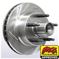 Afco Left Hand Slotted Pillar Vane Hybrid Hub-Rotor Assembly, 10.13