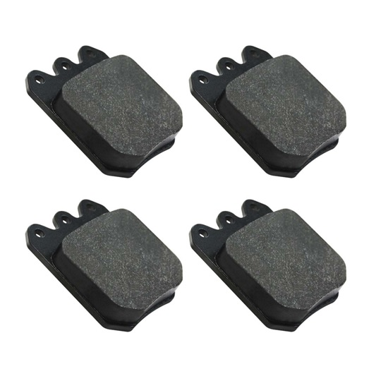 AFCO 6654002 F11 Brake Pads for Aluminum Rotors