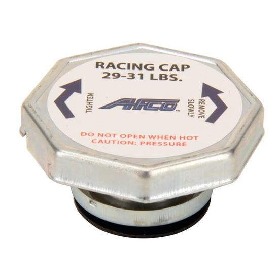 AFCO High Pressure Radiator Cap: 29-31 lbs.