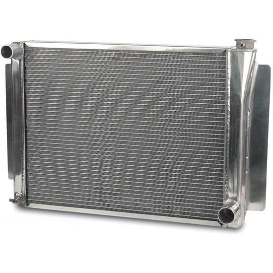 AFCO 80103NPZ Performance GM Alum. Radiator-26.75 x 18.5 Inch-Polished