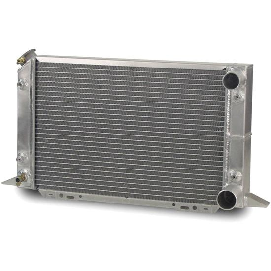 AFCO 80104NA Scirocco-Style Dual Pass Radiator RH In/Outlet 1.25 OD LF