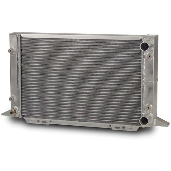 AFCO 80107N Scirocco-Style Dual Pass Radiator RH In/Outlet 1.25 OD NF