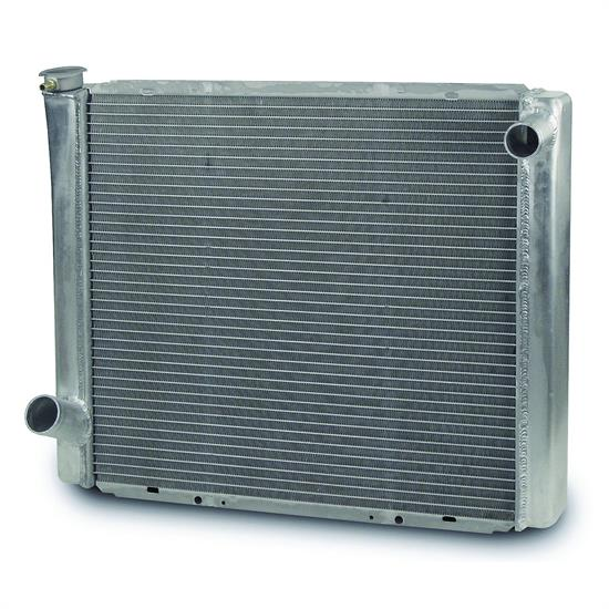 AFCO 80127FNPZ Performance Mopar Alum Radiator-24.25 x 19 In-Polished