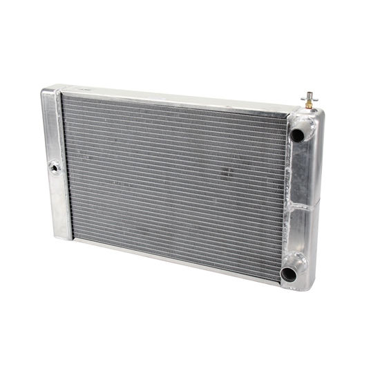 AFCO 80133N Double Pass Racing Radiator-16 Inch Height-1.25 Inch Inlet