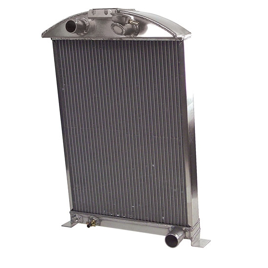 AFCO 1933-34 Ford Car Aluminum Radiator, Chevy Engine