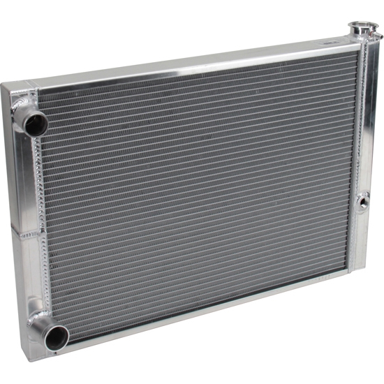 AFCO 80185FNDP Dirt Late Model Lightweight Double Pass Radiator