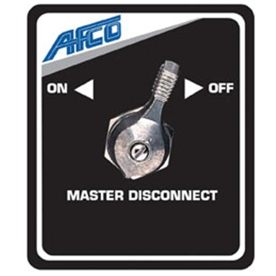 AFCO 85005B Afco Master Disconnect Panel