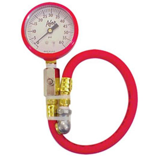 how to read air pressure gauge