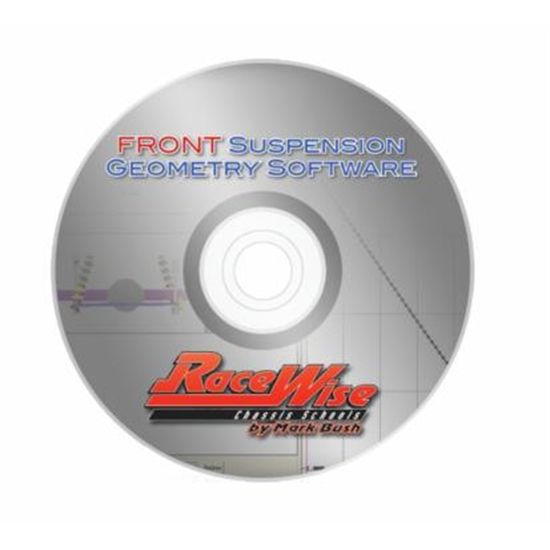 Racewise RWFRONT Front Suspension Geometry Software