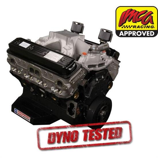 Gm 19318604 ct400 gm sealed 604 chevy crate engine dyno for Turn and burn motors