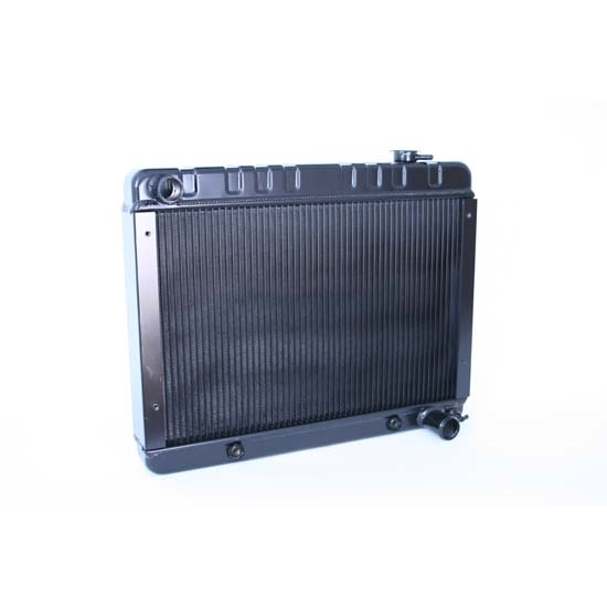 Dewitts 1239010A 1962-67 Nova/Chevy II Direct Fit Radiator, Black