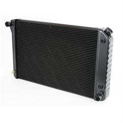 Dewitts 1239021A 1970-81 Firebird/TA Direct Fit Radiator, Black, Auto