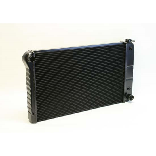 Dewitts 1249003A 68-72 Chevelle SB/BB Direct Fit HP Radiator, Blk