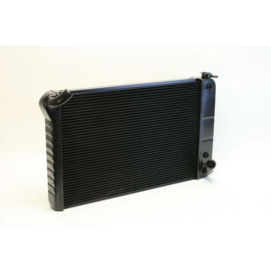 Dewitts 1249070A 1969-72 Corvette Direct Fit HP Radiator, Black, Auto