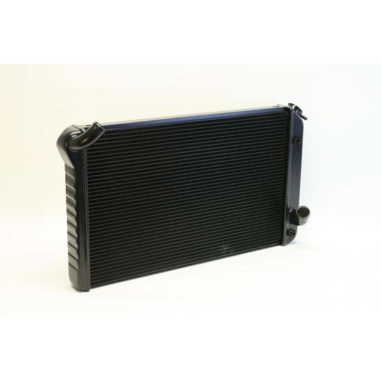 Dewitts 1249073A 1973-76 Corvette Direct Fit HP Radiator, Black, Auto