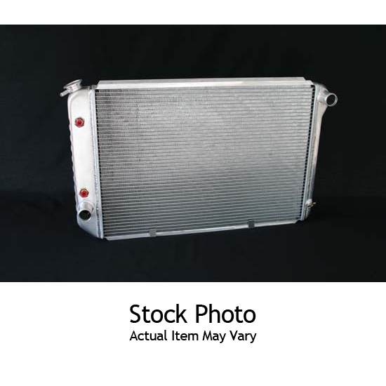 Dewitts 1339003M 1968-72 Chevelle SB/BB Direct Fit Radiator, Manual