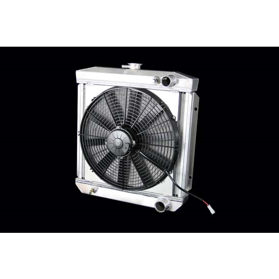 Dewitts 4138003M 1964-66 Mustang Radiator Fan Combo, Manual