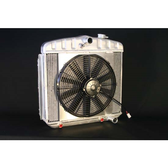 Dewitts 4139013A 1955-57 Chevy/TRI-V Radiator Fan Combo, Automatic
