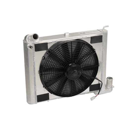 Dewitts 4139063M 1963-72 Corvette Radiator Fan Combo, Manual