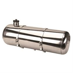 EMPI 3897 Pol. Stainless Steel Fuel Tank, 10x30 In., End Fill, 9.5 Gal
