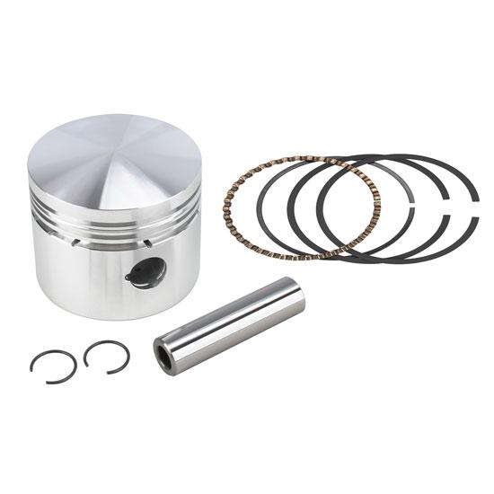 Arias Forged Flathead Ford Pistons, 3.75 Stroke