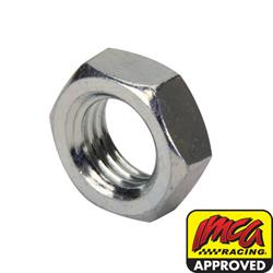 Steel Hex Jam Nut, 3/4 Inch, Zinc Plated