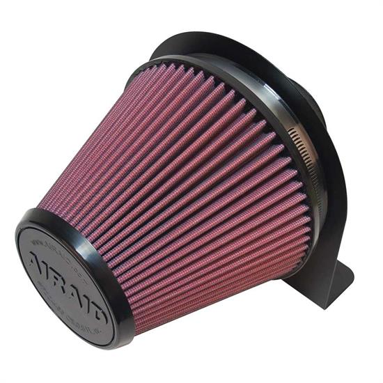 Airaid 100-201 Air Filter w/Mounting Brackets, 6 In Filter/3 In Tube