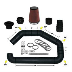 Airaid 101-300 U-Build-It Master Kit I Air Intake System, 3 Inch Tube